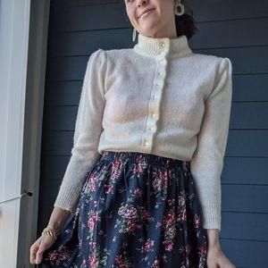 Vintage Puff Sleeve Sweater
